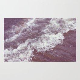 purple ocean Rug