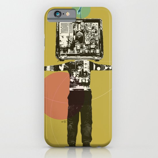 Electric Kid Collage iPhone & iPod Case