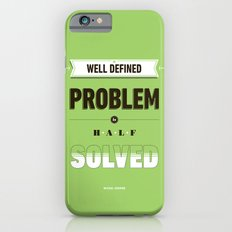 Well defined problem Slim Case iPhone 6s