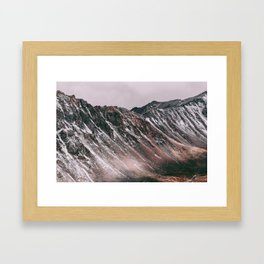 Mountains are calling Framed Art Print