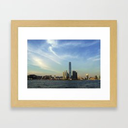 Hong Kong Sky Framed Art Print