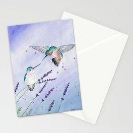 Hummingbird Romance Stationery Cards