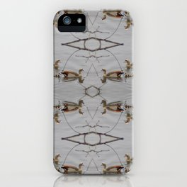 Egyptian Geese with Babies iPhone Case