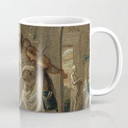 The Merchant and death upon a violin Coffee Mug