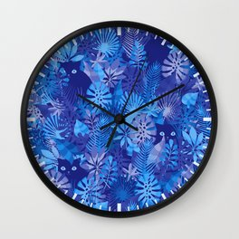 Foliage Disguise Wall Clock
