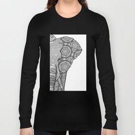 Elephant mandala Long Sleeve T-shirt
