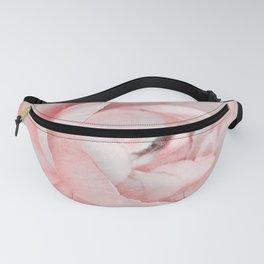 Vintage Pink Ranunculus 25 Fanny Pack