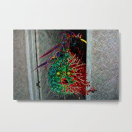 Monster in the Closet Metal Print