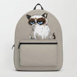 Grumpy Cartoon Backpack