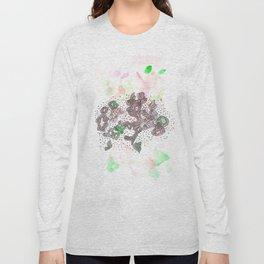 170323 Magical Unfolding 5  |Modern Watercolor Art | Abstract Watercolors Long Sleeve T-shirt