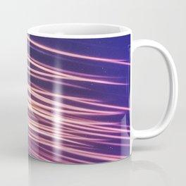 Meteor Shower Streaking Across the Night Sky Coffee Mug