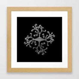 Joshua Tree Spaceship by CREYES Framed Art Print