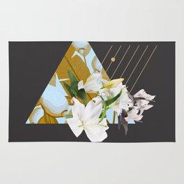 Tropical Flowers & Geometry Rug