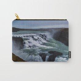 Gullfoss Falls Overview Carry-All Pouch