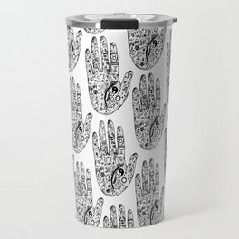 Hand Of Wisdom by Ane Teruel Travel Mug
