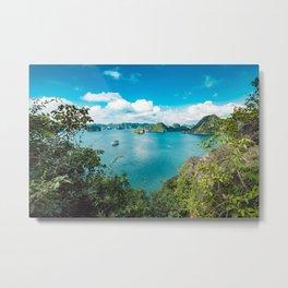 lagoon paradise Metal Print