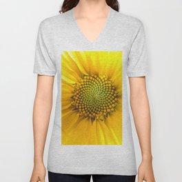 sunflower light Unisex V-Neck