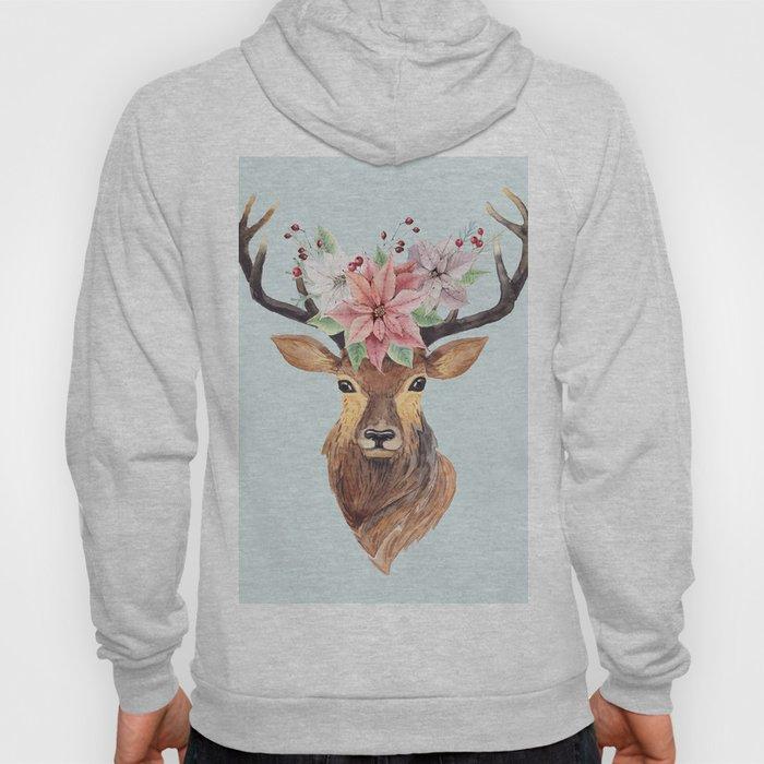 Winter Deer 2 Hoody