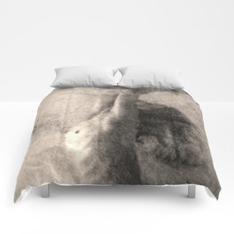 Nude Art Woman Comforters