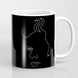 Jim Jarmusch - White on black Coffee Mug