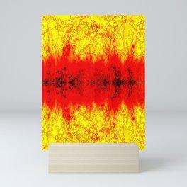 Intense color abstract Mini Art Print