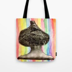 Tree Head Tote Bag