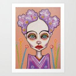 Li Fornia Art Print