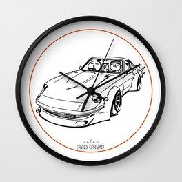 Crazy Car Art 0074 Wall Clock