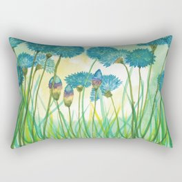 May your cornflowers never fade Rectangular Pillow