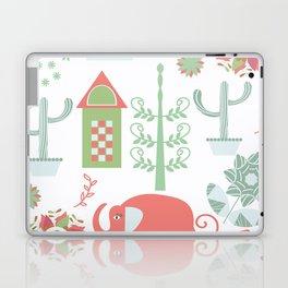 Travel pattern 4v Laptop & iPad Skin
