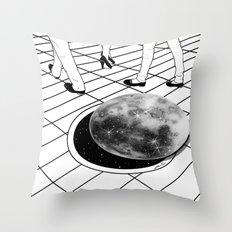 Moonhole Throw Pillow