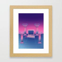 BSoD コンピュータの死 Framed Art Print