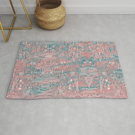 Circuitry Details 2 Rug
