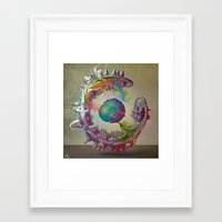archan nair Framed Art Prints featuring Korah by Archan Nair