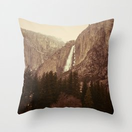 Yosemite 2 Throw Pillow
