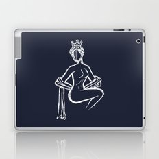 The Sitting Muse Laptop & iPad Skin