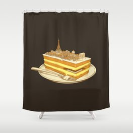 Hungry for Travels: Slice of Paris Shower Curtain