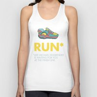 quotes Tank Tops featuring Funny quotes by Maripili