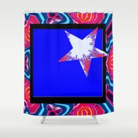 carnival Shower Curtains featuring Carnival by Susan Laine Studios