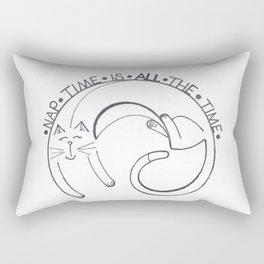 Cat Nap Rectangular Pillow