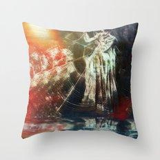 Arachnea Throw Pillow