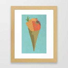 Healthy Eating Framed Art Print