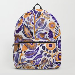 Endlessly growing Backpack