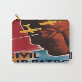 Vintage poster - Civil Air Patrol Carry-All Pouch
