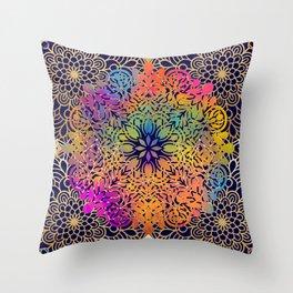 Mandala Divine Throw Pillow