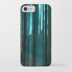 Forest in emerald green iPhone 7 Slim Case