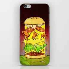 UFO Burger iPhone & iPod Skin