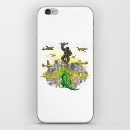 Godzilla vs King Kong  in tokyo ? iPhone Skin