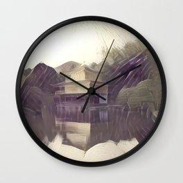 False Color Kyoto Wall Clock