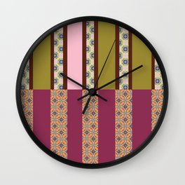 printed columns 3 Wall Clock